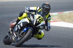 司机Mamet,卢克 Moto3 Stratos队 FIM CEV Repsol 免版税库存图片