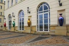 司法市的正方形卢森堡 免版税库存图片