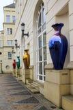 司法市的正方形卢森堡 库存照片