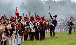 司令员和它的军队。 图库摄影