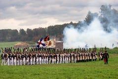 司令员和它的军队 免版税库存照片