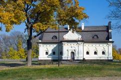 司令官房子到一个堡垒里在巴图林乌克兰 库存照片