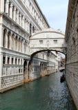 叹气桥梁, Palazzo Ducale 免版税图库摄影