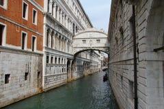 叹气桥梁, Palazzo Ducale 库存照片