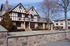 吃俱乐部的老虎旅馆在普林斯顿大学 图库摄影