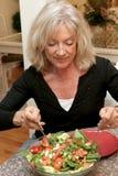 吃健康的健身 库存照片
