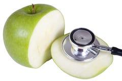 吃健康重点 图库摄影