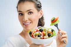 吃健康食物 库存图片
