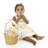 去'吃我的复活节彩蛋! 免版税库存照片