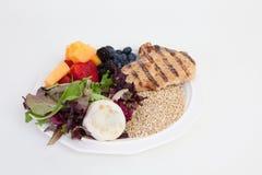 吃新食物指南健康的图标 库存照片