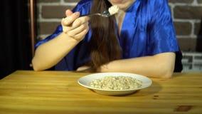 吃燕麦粥粥的少妇 股票录像