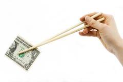 吃经济 免版税库存图片