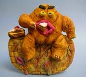 吃肥胖病什么您 免版税图库摄影