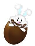 吃闹事者的兔宝宝 向量例证