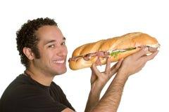 吃食物人 免版税库存图片