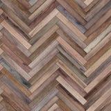 各种各样无缝的木木条地板纹理的人字形 向量例证