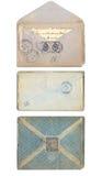 各种各样的信封的汇集 图库摄影