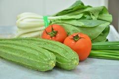 各种各样的健康菜 免版税库存图片