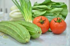 各种各样的健康菜 免版税库存照片
