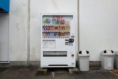 各种各样的公司自动售货机在东京 图库摄影