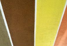 各种各样的彩带背景 库存照片