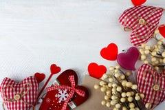 从各种各样的心脏的框架 库存照片