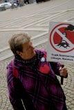 各种各样的抗议集会 库存图片