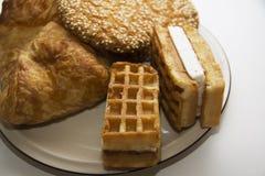 各种各样的曲奇饼14 免版税库存照片