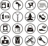 各种各样的服务 免版税库存图片
