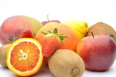 各种各样的果子 库存照片