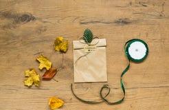 各种各样的秋天和感恩项目静物画  库存照片