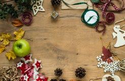各种各样的秋天和感恩项目静物画  免版税库存图片