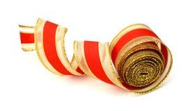 各种各样的红色丝带 免版税图库摄影