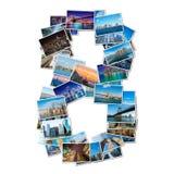 各种各样的纽约照片拼贴画  免版税库存照片