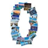 各种各样的纽约照片拼贴画  免版税库存图片