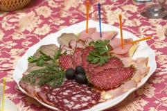 各种各样的肉纤巧 库存照片