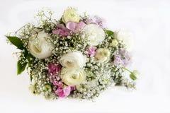各种各样的花花束  免版税库存图片