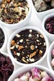 各种各样的茶 免版税库存照片