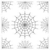 各种各样的蜘蛛网 库存照片