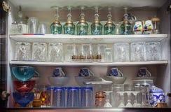 各种各样的装饰玻璃 免版税库存照片