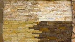各种各样的装饰瓦片和自然石样品 免版税库存图片
