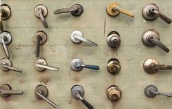 各种各样的门把手 免版税图库摄影