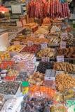 各种各样的食品批发市场 库存照片