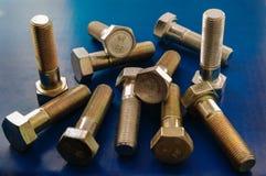 各种各样的主题的螺栓 免版税库存照片