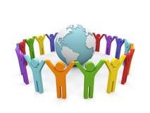 合伙企业世界 免版税图库摄影