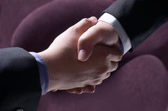 合伙企业成功 免版税库存图片