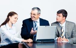 合作会议 免版税图库摄影