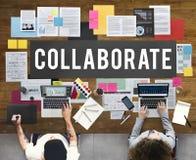 合作协议合作伙伴概念 免版税库存图片