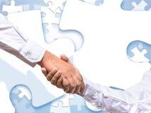 合作提高和谐与好的生活 免版税库存图片