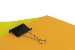 黏合剂夹子2 库存图片
